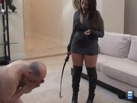 Toilet Slavery Privilege: 'You're gonna take a good beating for it aren't you?' she adds as she prepares to torture.