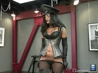Pony Bitch: Severe riding mistress Delilah punishes her slave pony boy for not being good enough!
